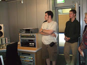 Excursion to ARD Broadcasting Studio