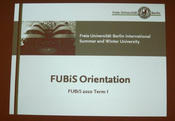 Opening Ceremony of FUBiS term I