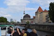 Boattrip on the river Spree