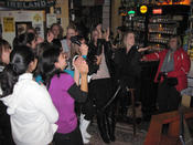Welcome evening with Karaoke