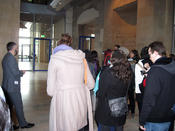Visit of the Reichstag building