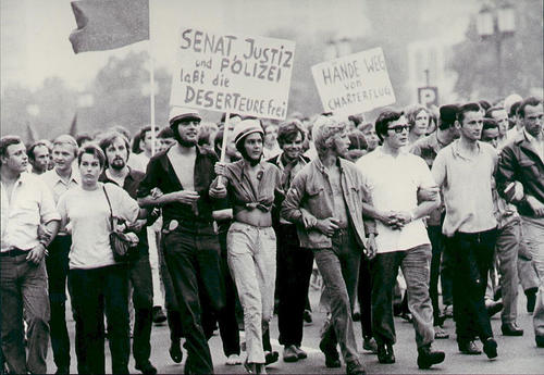 Demonstration in West-Berlin, 1969